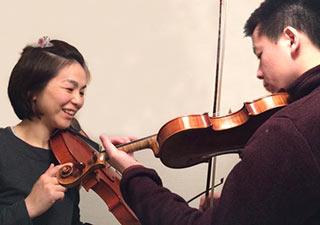 大人の方のバイオリン教室