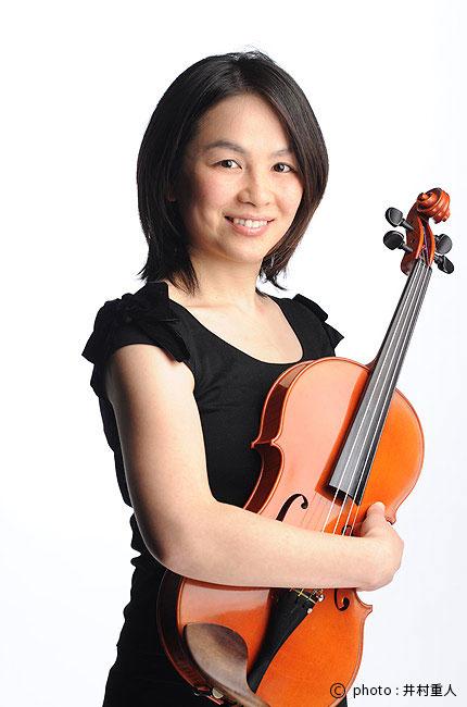 ヴィオラ 中田美穂の写真